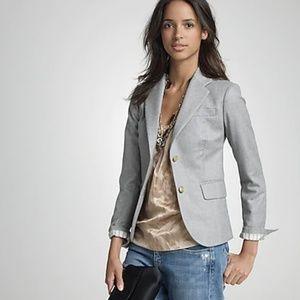 J.Crew SHARP blazer jacket grey wool blend, lined